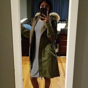 Gap praka jacket with removal jacket